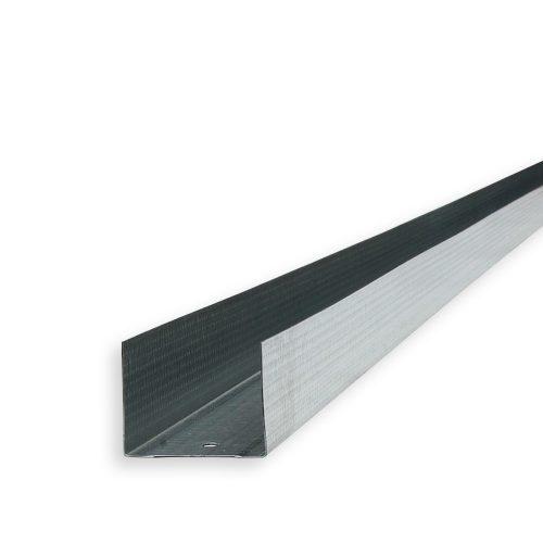 Vízszintes falvázprofil UW50 0,5mm 4m/db 8db/ktg