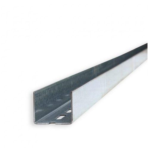 Merevítő profil UA50 2mm 3,5m/db