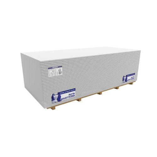 Norgips Acoustic hanggátló gipszkarton 1200x2000mm 2,4m2 12,5mm 64db/rk