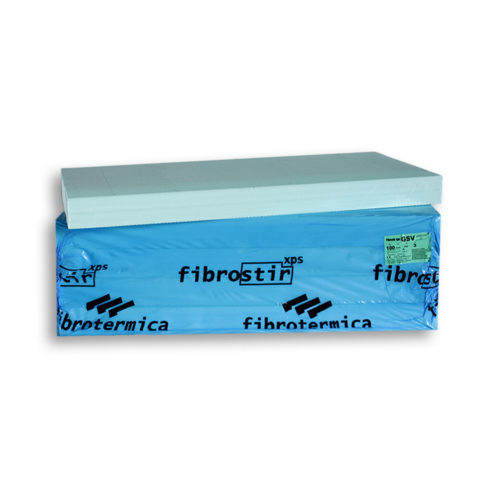 Fibrostir XPS lap 12cm rácsos+egyenes él 600x1250 2,25m2/csm