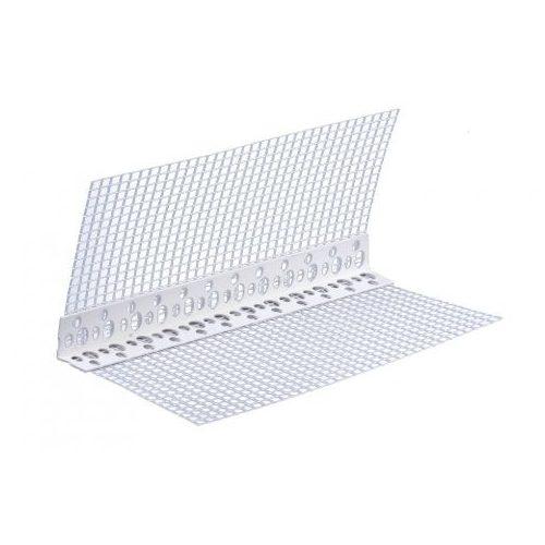 PVC hálós élvédő 10x10cm 2,5m 50db/doboz