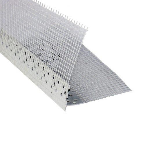 PVC hálós vízorros élvédő 10+10cm 2m 25db/csomag