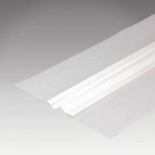 PVC hálós meződilatációs profil 2m/db 25db/doboz