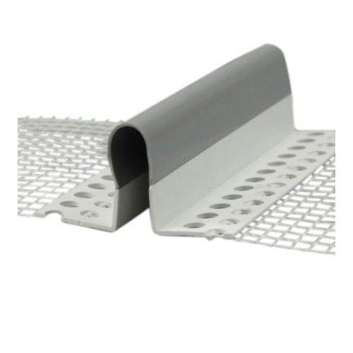 PVC hálós sarokdilatációs profil 2m/db 25db/doboz