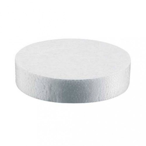 Polisztirol pogácsa 67mm fehér 100db/csomag