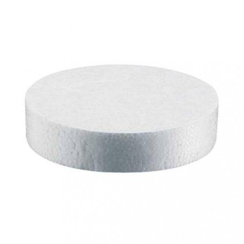 Polisztirol pogácsa 67mm fehér 500db/csomag