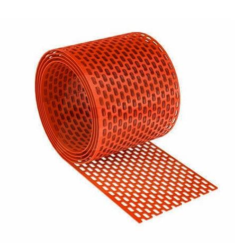 PVC szellőzőszalag 10cmx5m téglavörös 20db